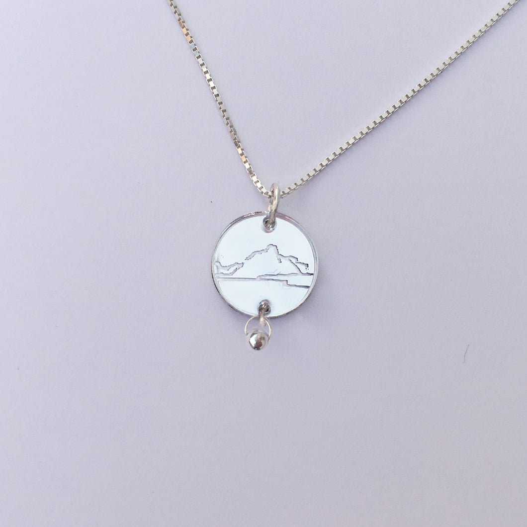 Olstind Lofoten -925 silver necklace