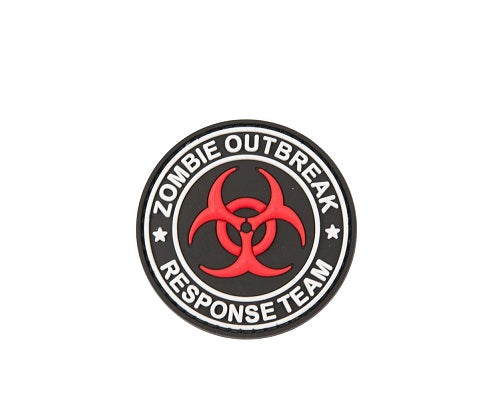 """Zombie Outbreak"" Velcro Patch"