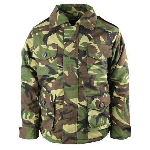 KombatUK Kids Shirt/Jacket - DPM (Woodland)
