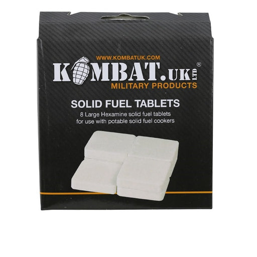 KombatUK Solid Fuel Tablets 18g - Pack of 8