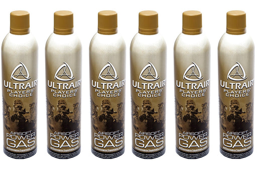Ultrair 6 Bottles of Power Gas - Save €9.99!