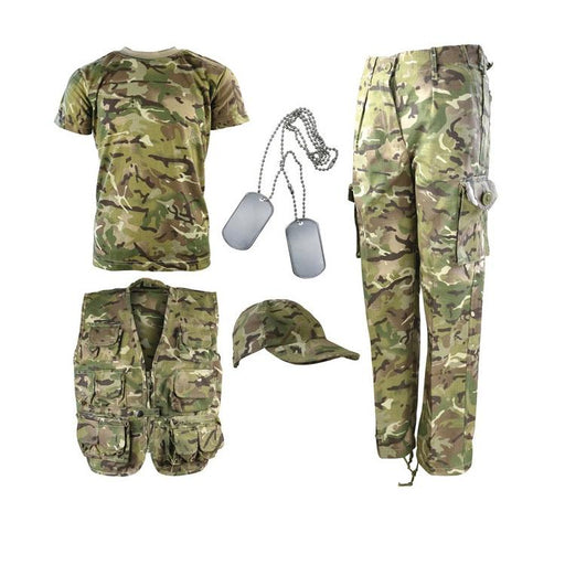 KombatUK Explorer Army Kit - BTP (Multicam)