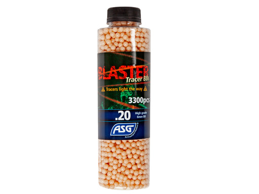 Blaster Tracer 0.2g 3300 BBs In Bottle - Red