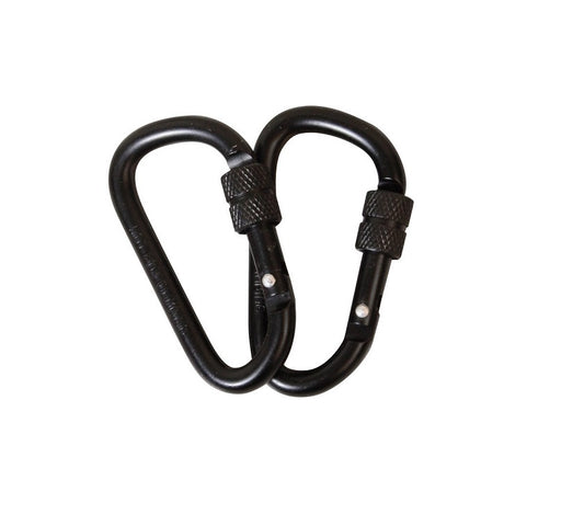 KombatUK Locking Carabiner Pair - 6mm