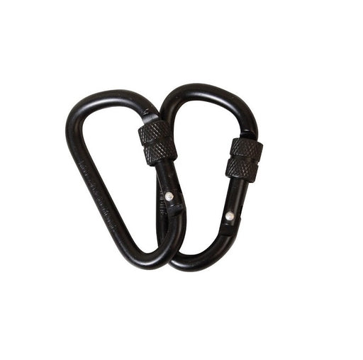 KombatUK Locking Carabiner Pair - 8mm