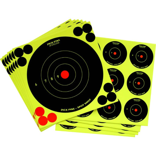 Jack Pyke Mixed Spot Shoot Targets - 6x6/4x2