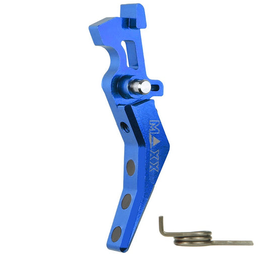 Maxx Model CNC Aluminum Advanced Trigger (Style B) (Blue)