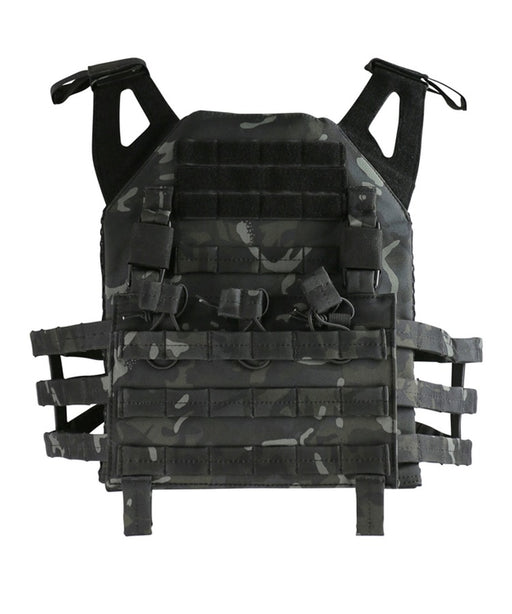 KombatUK Buckle-Tek Jump Plate Carrier - BTP Black (Multicam)