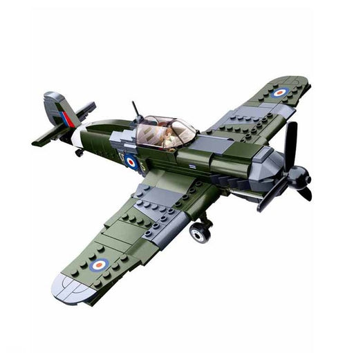 Sluban B0712 - WWII British Army Fighter