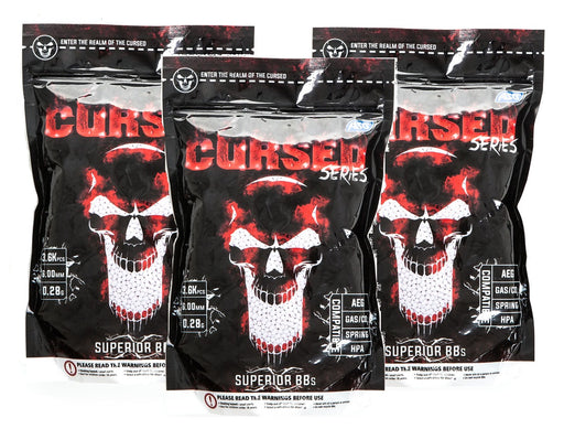 AirsoftEire.com 3 Bags of Cursed 0.28g BBs - 10800BBs - Save €8.97