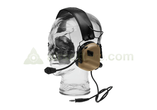 Earmor M32 Electronic Communication Hearing Protector - Coyote