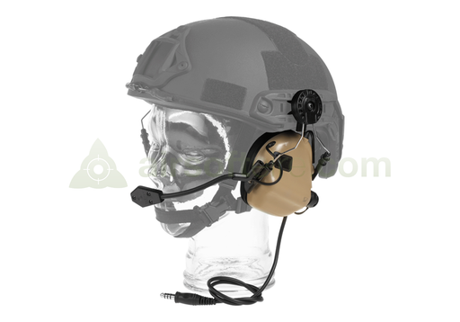 Earmor M32H Electronic Communication Hearing Protector - Coyote