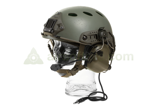 Earmor M32H Electronic Communication Hearing Protector - Foliage Green