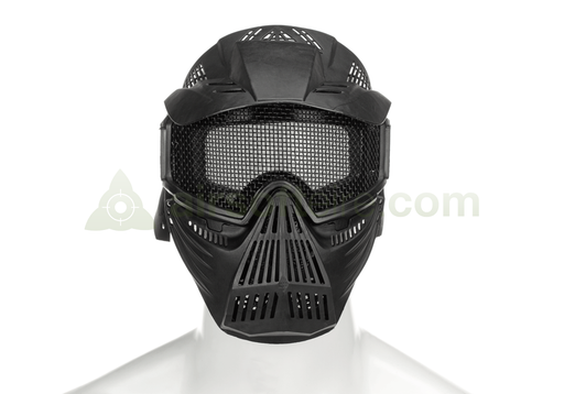 Pirate Arms Commander Mesh Mask - Black