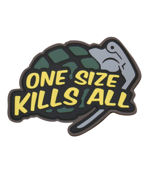 "AirsoftEire.com ""One Size Kills All"" Velcro Patch"