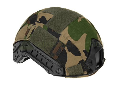 Invader Gear FAST Helmet Cover - Woodland
