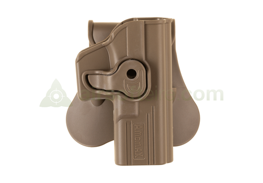 Amomax Q.R. Polymer Holster - Glock FDE