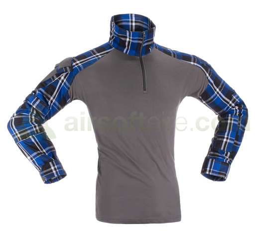 Invader Gear Flannel UBACS Top - Blue