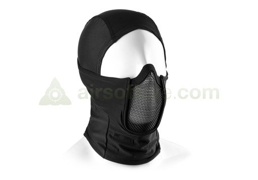 Invader Gear Mk.III Steel Half Face Mask - Black