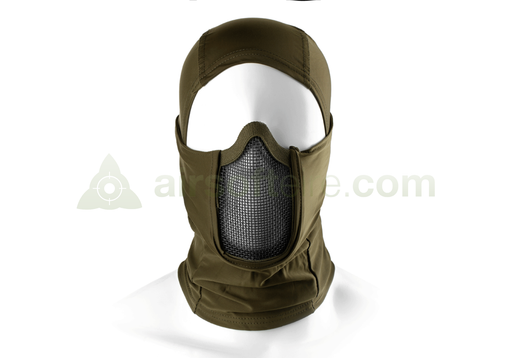 Invader Gear Mk.III Steel Half Face Mask - OD