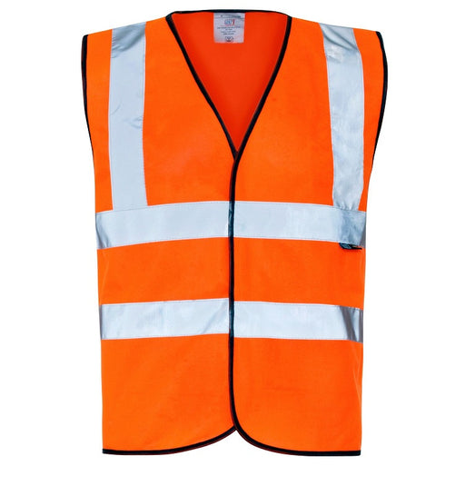 Supertouch Hi Vis Orange Pull Apart Vest