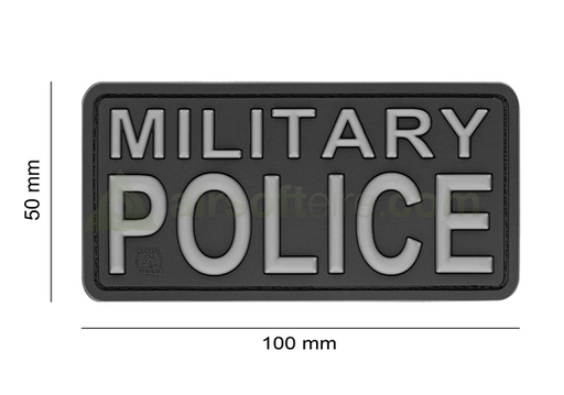 JTG 3D Rubber Military Police Patch - SWAT