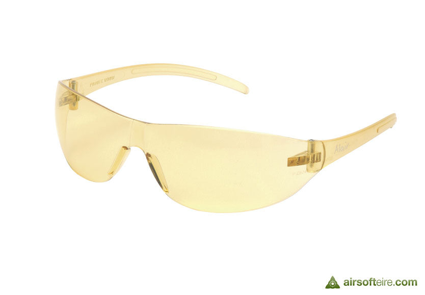 ASG Polycarbonate Eye Protection Glasses - Yellow