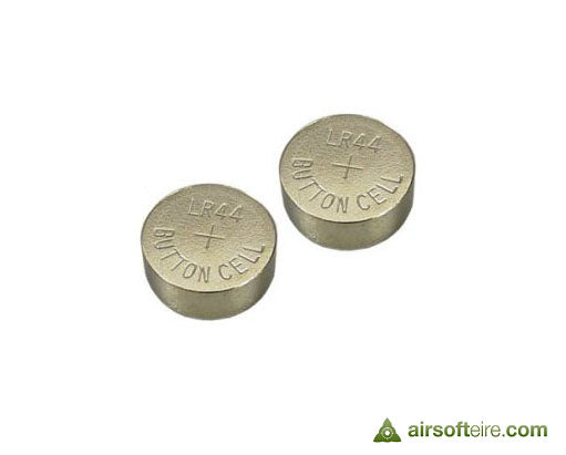 ASG LR44 Button Cell for Dot Sights - Pack of 2