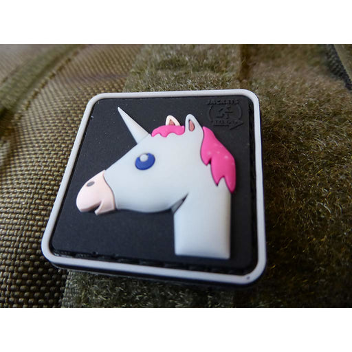 JTG 3D Rubber Unicorn Patch, Strawberry Aroma