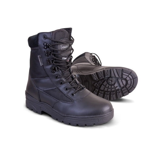 KombatUK Leather/Cordura Patrol Boot - Black