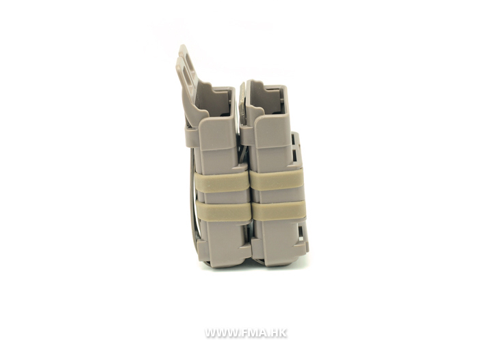 FMA Double FastMag M4/M16 Pouch - Dark Earth
