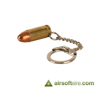 Manufacturer Real 9mm Brass Keyring