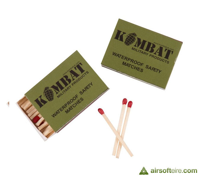 KombatUK Waterproof Matches