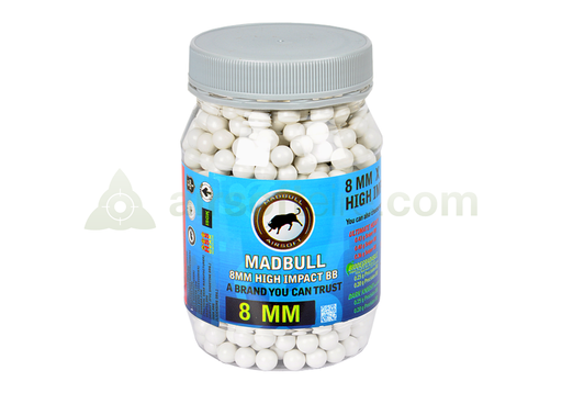 Madbull 850 0.48g High Impact BBs - 8mm