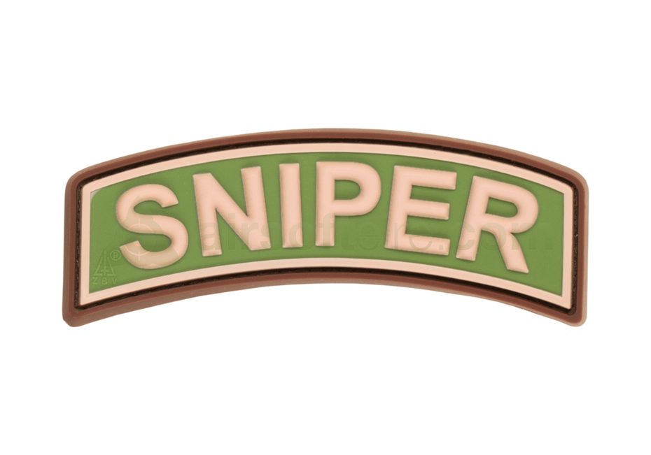 JTG 3D Rubber Sniper Tab Patch - Multicam