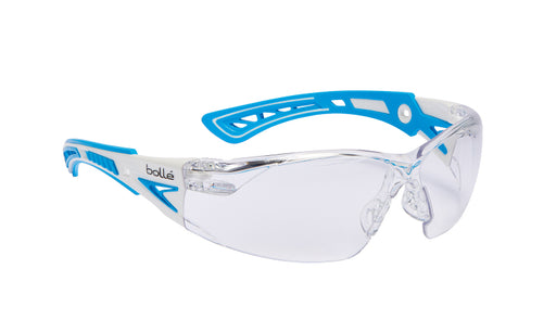Bollé RUSH+ Clear Glasses Small - Blue