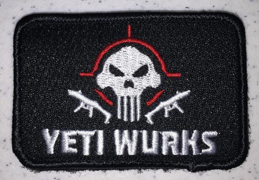 ClawGear Yeti Wurks Embroidered Patch