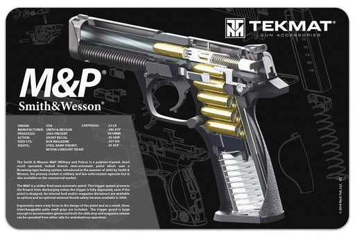 TekMat Smith & Wesson M&P9  3D Cutaway Work Mat
