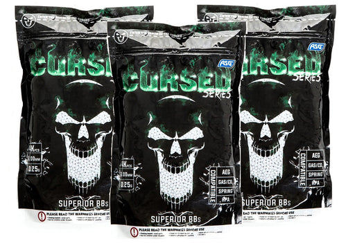 AirsoftEire.com 3 Bags of Cursed 0.25g BBs - 12000 BBs - Save €8.97