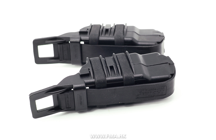 FMA Double FastMag Pistol Pouch - Black