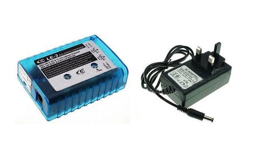 Giant Power 1000mA Lipo/LiFe Charger for 7.4V/9.9V/11.1V Battery