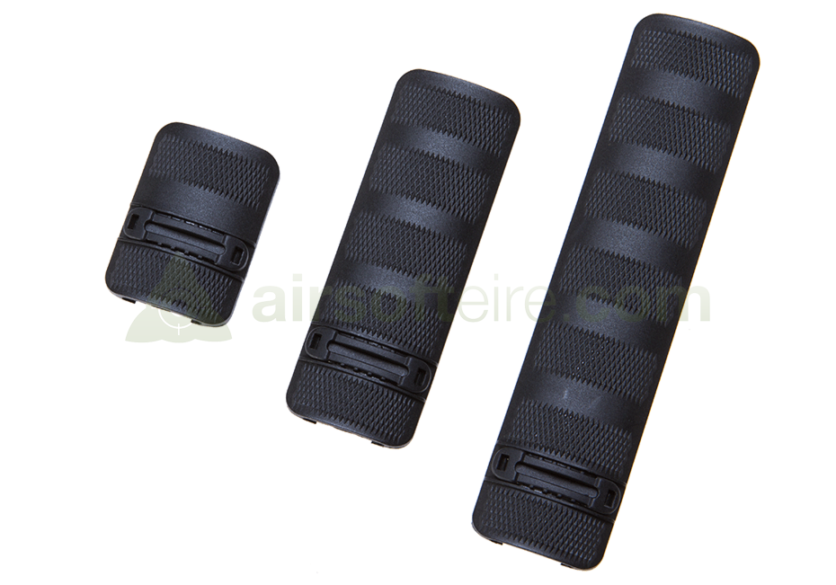 Element Battle Rail Covers - Black