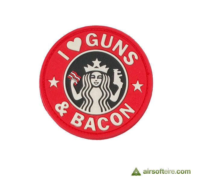 JTG 3D Rubber Guns & Bacon Patch