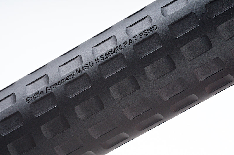 PTS Syndicate Griffin Armament M4SD-II Mock Suppressor - Black