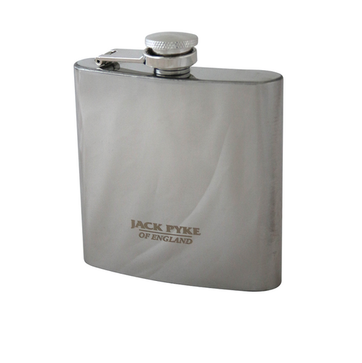 Jack Pyke Stainless Steel Hip Flask - 6oz