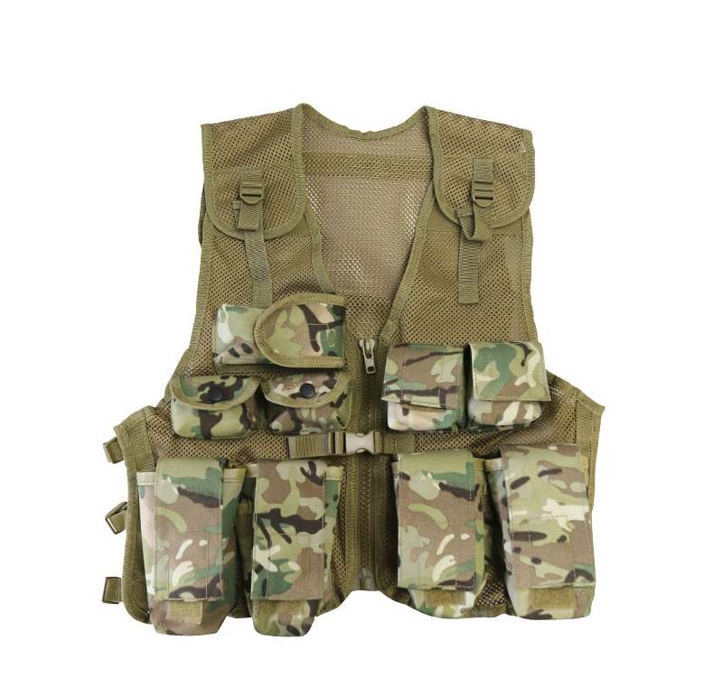 KombatUK BTP Multicam Tactical Vest - 10-16 Years