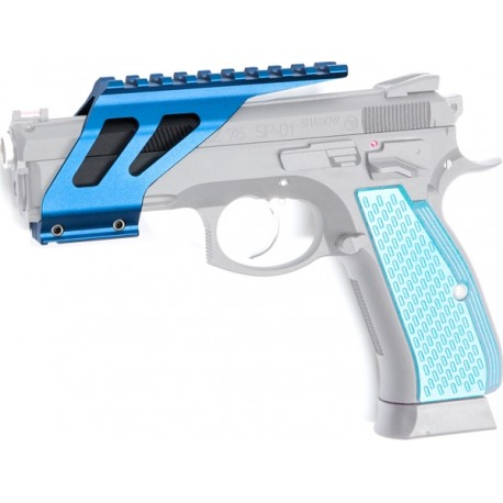 ASG SP-01 Shadow CNC Rail - Blue