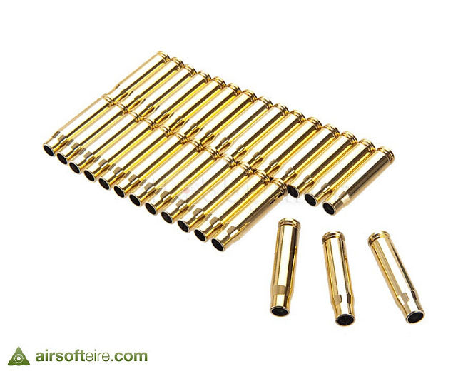 Manufacturer TOP Brass Effect Casings for Eject Models - x30