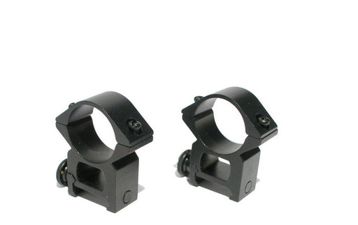 Strike (ASG) 25mm High Scope Rings - 20mm Rail