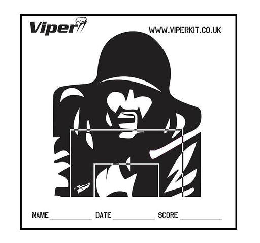 Viper 100 Targets for ASG Shooting Net